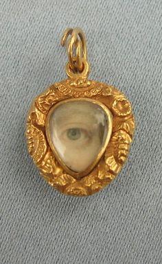 1800's mourning locket