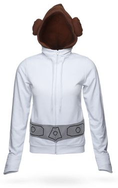 Princess Leia Hoodie - Into the garbage chute, flyboy