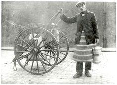 Milk Cart, Peckham, Southwark, c.1920