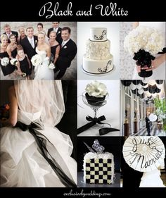 "Black-and-white-wedding | ""Don't Rule Out Neutral Wedding Colors"" 