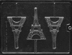 Amazon.com: EIFFEL TOWER Miscellaneous Candy Mold Chocolate: Kitchen & Dining