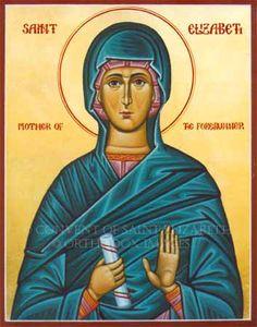 St. Elizabeth, mother of St. John the Forerunner (St. John the Baptist)