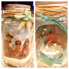 DIY mason jar photo