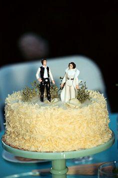 Star Wars cake topper!