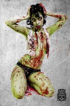 Zombie Pinup!