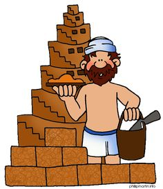 Free Bible Clip Art by Phillip Martin, Tower of Babel