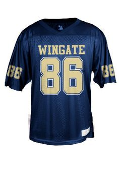 1986 is the year Wingate's football team started! Get this jersey to show your Bulldog football pride! Only $39.95.  Order now & ship today! Call 704-233-8025.