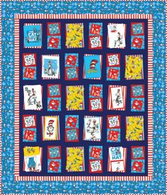 Bump Thump panel quilt pattern