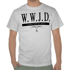 W.W.J.D. (What Will Jr. Do!) Dale Jr Tee - $15.55 (plus 15% off thru Friday with promo code: HAPPYLOVEDAY)