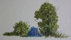 Painting Simple Summer Foliage with Oils oil paintings, paint simpl, simpl summer, summer foliag, art lessonsacryl, paint tutori, art techniqu