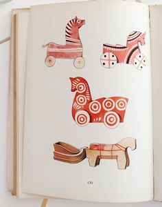 Folk Toys; Les Jouets Populaires by Emanuel Hercik