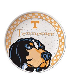 Take a look at this Tennessee Game Day Ceramic Plate by Time to Tailgate: College Colors on #zulily today!
