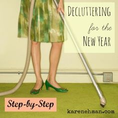decluttering for the newyear