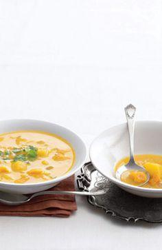 #Recipe: Thai Curried Squash Soup.
