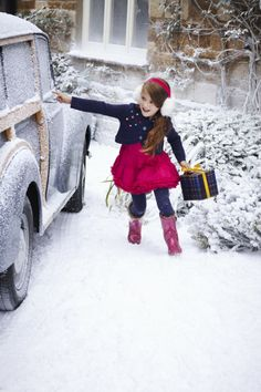 Joules de Navidad los niños de la moda para el invierno 2013