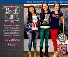Girls Clothes | Shop Girls Clothing Stores | Shop Justice More