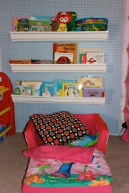 Achieving Creative Order: Client Space--Unfinished Basement Turned Organized, Colorful Playroom