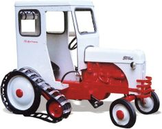 Ford Pedal Tractor on tracks