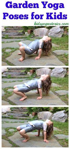 Garden Yoga Poses for Kids