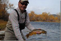 On the Beaverhead trout fish, beaverhead river, river montana