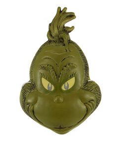 This Grinch Mask is perfect! #zulilyfinds