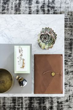 Add Art and Accessories. Desk styling.