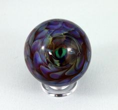 artisan crafted lampwork glass marble dragon by lampworkbyjulie, $43.00