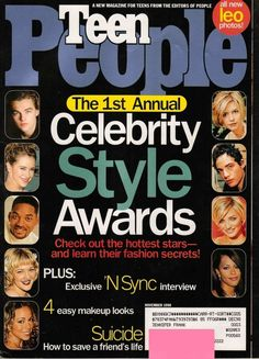 "In 1998, Teen People released it's first ""Celebrity Style Awards"" issue and only the coolest and most stylish celebrities made the cut. 