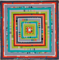 City Center // Angie: sewcrazyforquilts. I love this, the colours are perfect.
