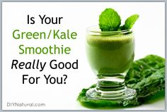 Kale smoothie recipes are all over the internet. Unfortunately they may be leading you astray. Discover the true secret to a healthy kale smoothie here!