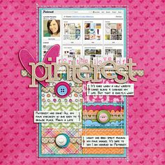 Scrapbook Topic: Must make one of these layouts - too cool!!  #scrapbooking #layouts
