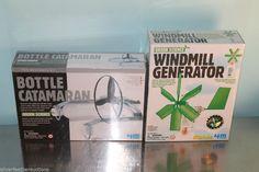 2 Kidz Labs 4M Green Science Expirements - Windmill Generator & Bottle Catamaran #KidzLabs4M #GreenEnergy #KidScienceExpirement #ScienceProject