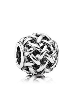 PANDORA Charm - Sterling Silver Forever Entwined   Bloomingdale's