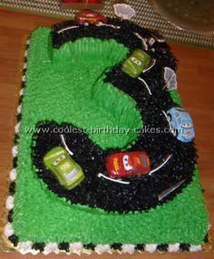 Cars Race Car Cake