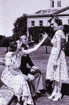 Lord and Lady Mountbatten with daughter Pamela (later Lady Pamela Hicks)
