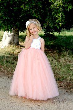 flower girl dresses coral, flower girl dresses tutu coral, flower girl tutu dress, flower girl peach, flower girl dresses long