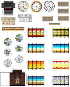suvasi:LOTS OF PRINTABLES AND WEB SITES    DIY doll house furniture and accessories from patterns and printable pages.  Ready to go doll house miniatures, furniture, accesso...
