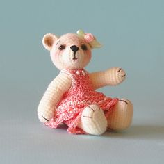 Cute Teddy Bear Amigurumi - FREE Crochet Pattern and Tutorial by Sue Pendleton, thanks so xox