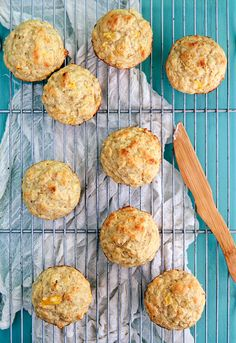 Mango Banana Millet Muffins | Some the Wiser