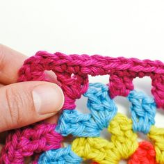 Crochet Tutorial: The Invisible Join and Fasten Off - Petals to Picots, thanks so for share xox