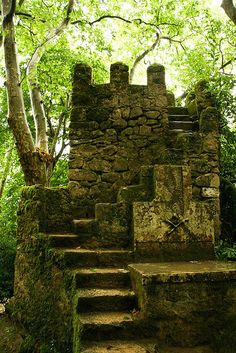 Ancient Fortress, Sintra, Portugal