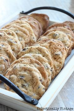 Best Chocolate Chunk Cookie Recipe Ever @Cathie Walker Walker Greer Vintage