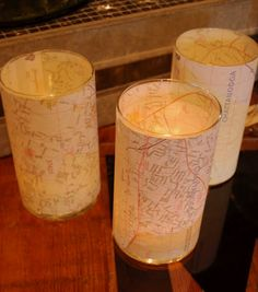 Dirt from...The Clay Pot: Party Favors with a travel theme