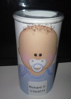 #Baby #Shower Tootsie Roll Bank by SweetDee484 on #Etsy, $4.50