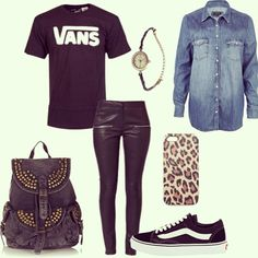 Get the look #rock #fashion