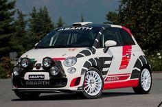 "Superturismo WRC 17"" on Fiat 500 Abarth #OZRACING #RACING #SUPERTURISMO #RIM #WHEEL"