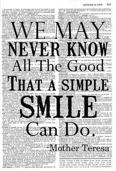 Smile. S)