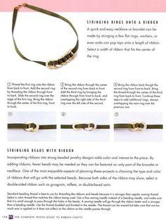 How to loop ribbon through rings #ribbonrings