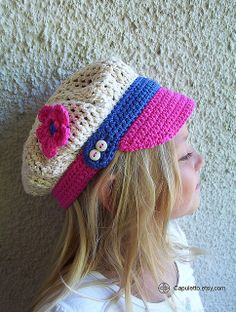childrens animal hat patterns | Kids' Hats — Free Crochet Patterns for Kids' Hats