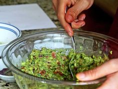 Full of Power Foods! Guacamole Salsa